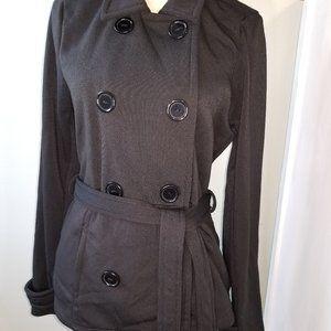 Ashley by International Black Coat